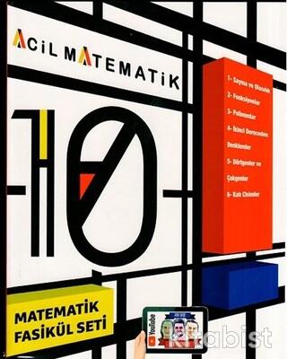 Acil Yayınları - 10.Sınıf Acil Matematik 6'lı Fasikül Set