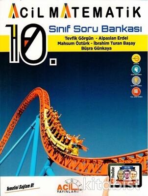 Acil Yayınları - 10.Sınıf Acil Matematik Soru Bankası