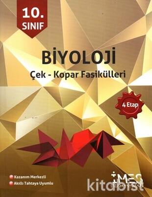 İmes Eğitim Yayınları - 10.Sınıf Biyoloji 4.Etap Çek-Kopar Fasikülleri