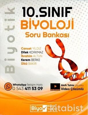 Biyotik Yayınları - 10.Sınıf Biyoloji Biyotik Soru Bankası