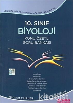 Esen Yayınları - 10.Sınıf Biyoloji Konu Özetli Soru Bankası