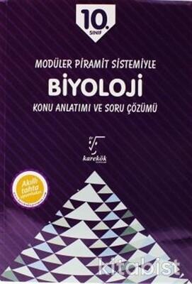 Karekök Yayınları - 10.Sınıf Biyoloji MPS Konu Anlatımlı