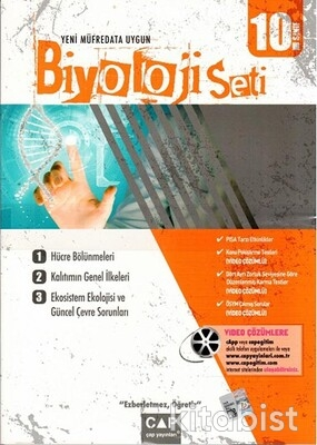 Çap Yayınları - 10.Sınıf Biyoloji Seti