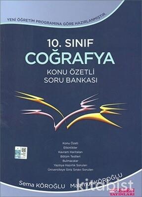 Esen Yayınları - 10.Sınıf Coğrafya Konu Özetli Soru Bankası