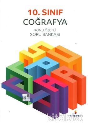 Supara Yayınları - 10.Sınıf Coğrafya Konu Özetli Soru Bankası