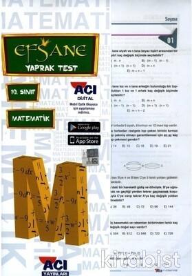 Açı Yayınları - 10.Sınıf Matematik Çek Kopar Yaprak Test