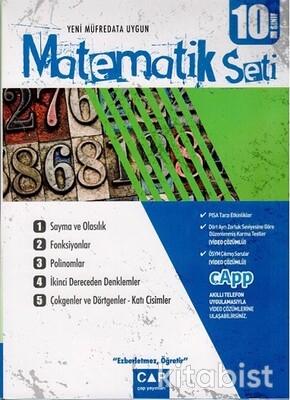Çap Yayınları - 10.Sınıf Matematik Seti
