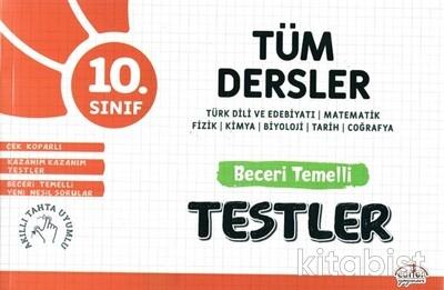 Editör Yayınları - 10.Sınıf Tüm Dersler Beceri Temelli Testler
