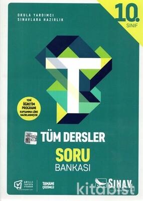 Sınav Yayınları - 10.Sınıf Tüm Dersler Soru Bankası