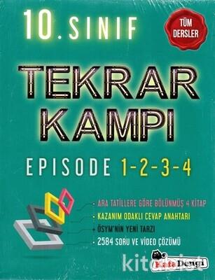 Kafadengi Yayınları - 10.Sınıf Tüm Dersler Tekrar Kampı