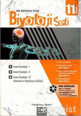 Çap Yayınları - 11.Sınıf Anadolu Lisesi Biyoloji Seti
