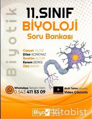 Biyotik Yayınları - 11.Sınıf Biyoloji Biyotik Soru Bankası