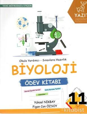 Yazıt Yayınları - 11.Sınıf Biyoloji Ödev Kitabı