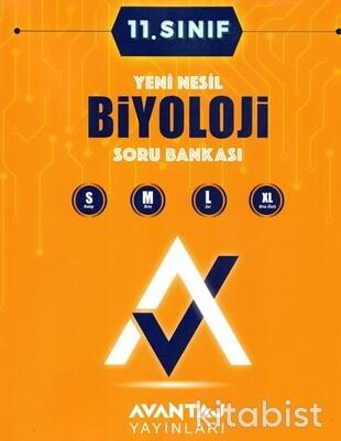 Avantaj Yayınları - 11.Sınıf Biyoloji Soru Bankası