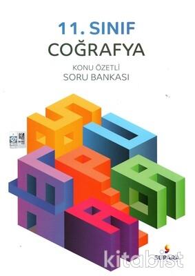 Supara Yayınları - 11.Sınıf Coğrafya Konu Özetli Soru Bankası
