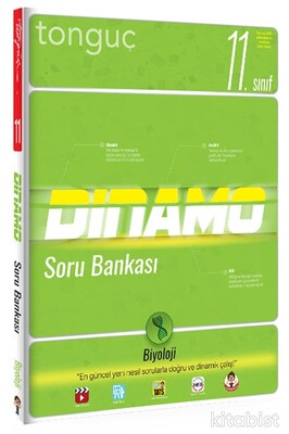 Tonguç Akademi - 11.Sınıf Dinamo Biyoloji Soru Bankası