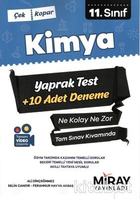 Miray Yayınları - 11.Sınıf Kimya Çek-Kopar Yaprak Test