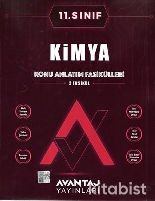 Avantaj Yayınları - 11.Sınıf Kimya Konu Anlatım Fasikülleri