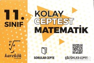 Karekök Yayınları - 11.Sınıf Kolay Matematik Cep Test