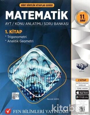 Fen Bilimleri Yayınları - 11.Sınıf Matematik Konu Anlatımlı Soru Bankası-4 Kitap