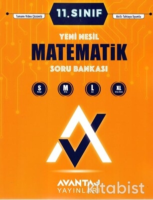 Avantaj Yayınları - 11.Sınıf Matematik Soru Bankası