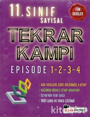 Kafadengi Yayınları - 11.Sınıf Tüm Dersler Tekrar Kampı-(Sayısal)