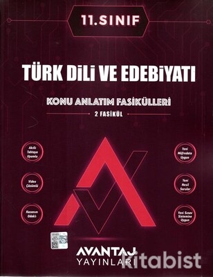 Avantaj Yayınları - 11.Sınıf Türk Dili ve Edebiyatı Konu Anlatım Fasikülleri