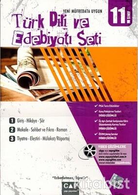Çap Yayınları - 11.Sınıf Türk Dili ve Edebiyatı Seti