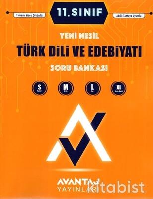 Avantaj Yayınları - 11.Sınıf Türk Dili ve Edebiyatı Soru Bankası
