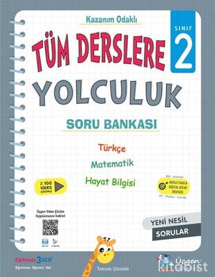 Üçgen Yayıncılık - 2. Sınıf TÜM DERSLERE YOLCULUK - YENİ