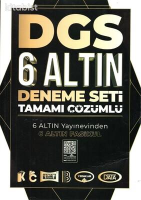 Benim Hocam Yayınları - 2021 DGS Tamamı Çözümlü 6 Altın Deneme
