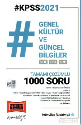 2021 KPSS Genel Kültür ve Güncel Bilgiler Tamamı Çözümlü 1000 Soru
