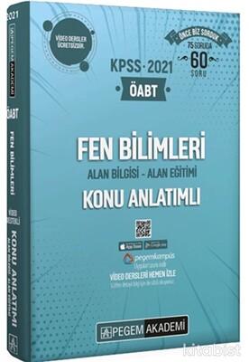 Pegem Yayınları - 2021 KPSS ÖABT Fen Bilimleri Modüler Set-4 Kitap