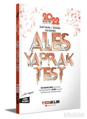 Yedi İklim Yayınları - 2022 ALES Sayısal-Sözel Yetenek Çek Kopart Yaprak Test
