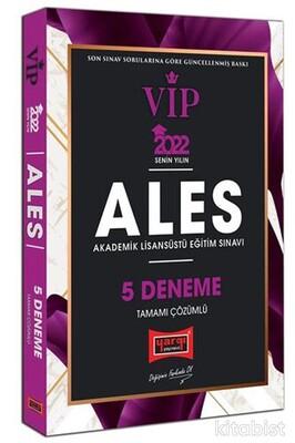 Yargı Yayınları - 2022 ALES VIP Tamamı Çözümlü 5 Deneme