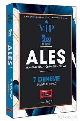 Yargı Yayınları - 2022 ALES VIP Tamamı Çözümlü 7 Deneme2