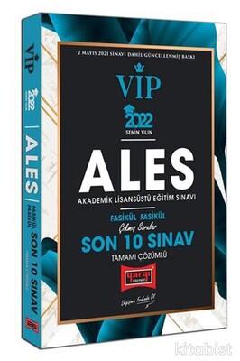 Yargı Yayınları - 2022 ALES VIP Tamamı Çözümlü Çıkmış Sorular Fasikül Fasikül Son 10 Sınav
