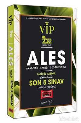 Yargı Yayınları - 2022 ALES VIP Tamamı Çözümlü Çıkmış Sorular Fasikül Fasikül Son 5 Sınav