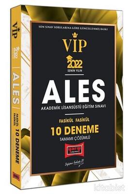 Yargı Yayınları - 2022 ALES VIP Tamamı Çözümlü Fasikül Fasikül 10 Deneme