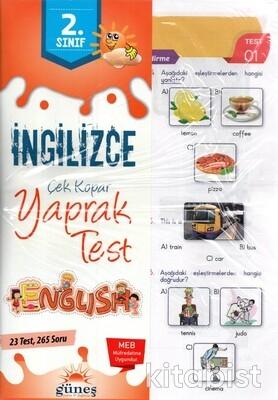 Güneş Yayınları - 2.Sınıf İngilizce Yaprak Test