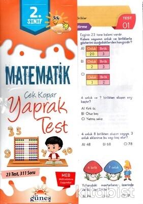 Güneş Yayınları - 2.Sınıf Matematik Yaprak Test