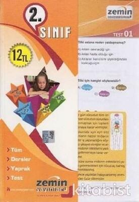 Zemin Yayınları - 2.Sınıf Tüm Dersler Yaprak Test