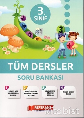 Referans Yayınları - 3.Sınıf Tüm Dersler Soru Bankası