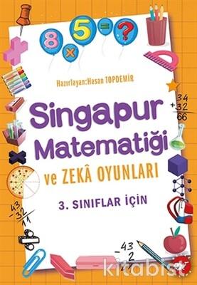 Beyaz Balina Yayınları - 3.Sınıflar İçin Singapur Matematiği ve Zeka Oyunları