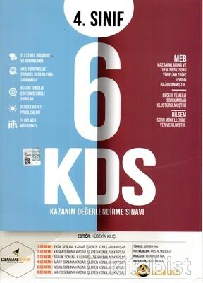 Deneme Bank Yayınları - 4.Sınıf Kazanım Değerlendirme 6'lı Deneme Sınavı