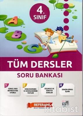Referans Yayınları - 4.Sınıf Tüm Dersler Soru Bankası