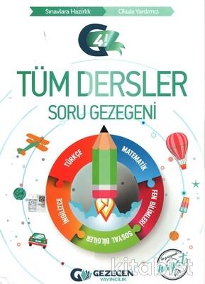 Gezegen Yayınları - 4.Sınıf Tüm Dersler Soru Gezegeni