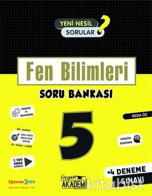 Üçgen Akademi - 5. Sınıf - FEN BİLİMLERİ - Soru Bankası
