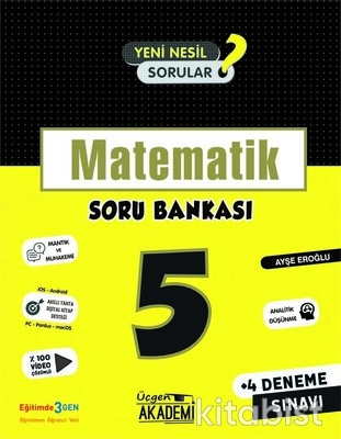 Üçgen Akademi - 5. Sınıf - MATEMATİK - Soru Bankası