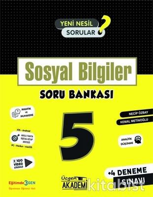 Üçgen Akademi - 5. Sınıf - SOSYAL BİLGİLER - Soru Bankası